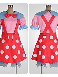 mooie muis red dot patroon cosplay kostuum