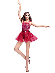 Performance Women's Sequined Tulle And Lycra Modern/Ballet Dance Dress