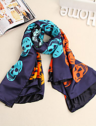 Bully European Fashion Silk Long Scarf YWBZS117