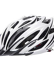 INBIKE unisex 24 rejillas blancas pc + eps a prueba de golpes integralmente moldeado del casco en bicicleta (54-64cm)
