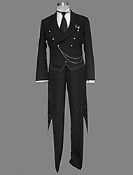 Black Butler Sebastian Michaelis Tuxedo Suits Cosplay Costume