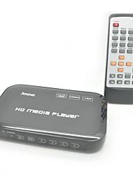 Jesurun JK04  1080P Full HD Media Player with HDMI / USB / SD / AV /Ypbpr / VGA (Black)