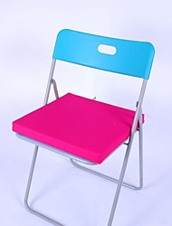 LILY®Simple Square Coarse Sponge Washable Cotton 4 cm Thick Cushion 40 * 40cm Chair Cushion Rose HMD-4-29