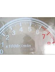 grande 60cm fresco tacómetro reflexivo pegatinas de coches