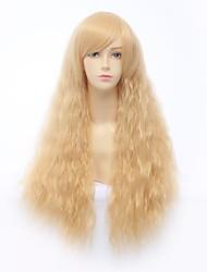 Harajuku Golden 80cm Jerry Curly Princess Lolita Wig