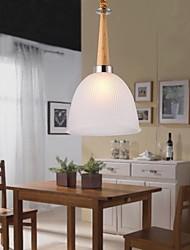 bar carvalho luminária, uma luzes, carvalho e vidro, 220 ~ 240V (hy08l)