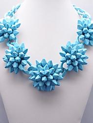 Eternity Women's Resin Flower Pattern Necklace