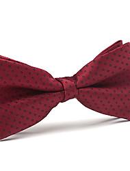 Black&Red Silk Bow Tie