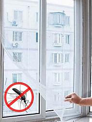 autoadhesivo tipo utilidad anti-mosquito ventana mágica redes de cortina (61''l * 51''w)