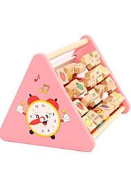 bebê iluminação benéfico para as crianças aprenderem a sabedoria de brinquedos educativos de madeira multifunções vigor