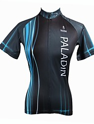 PALADIN® Cycling Jersey Women's Short Sleeve Bike Breathable / Quick Dry / Ultraviolet Resistant Jersey / Tops 100% Polyester Stripe
