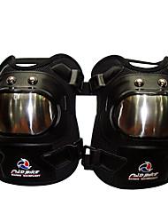 2pcs motocicleta aço inoxidável almofadas passeios motociclismo joelho joelho de proteção