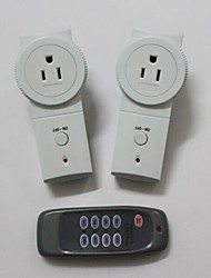 TS-868 US2+1 Wireless US Plug-in Mains Socket with Remote Control Switch Set