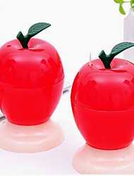Lovely Apple Push Pattern Automatic Toothpick Storage Boxes