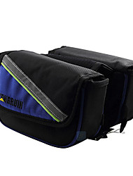 Bike Frame Bag / Cell Phone Bag / Cycle Bags Waterproof / Reflective Strip / Wearable / Phone/Iphone Cycling/Bike Oxford Black / Blue