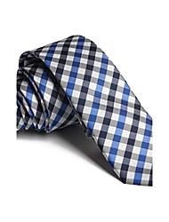 ocio de moda británico corbatas delgadas de los hombres (5 cm)