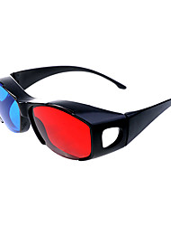 Red Blue Split-screen General 3D Glasses for Computer and TV