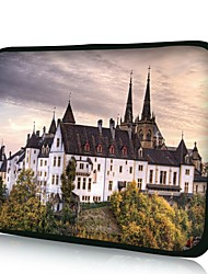 "Elonno House Scenery 15"" Laptop Neoprene Protective Sleeve Case for Macbook Pro Retina Dell HP Acer"