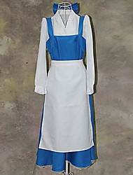 Beauty and The Beast Series Blue and White Maid Outfits