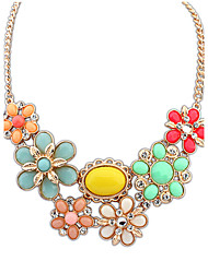 Canlyn Women's Flower Elegant Necklace