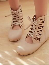 Women's Shoes Round Toe Flat Heel Flats Shoes