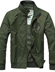 Men's Coats & Jackets , Polyester Casual SMR