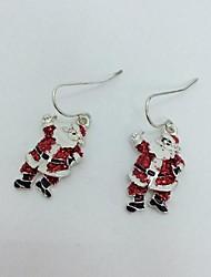 Natale orecchini delle donne della lega di Natale incantevole padre