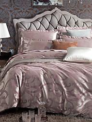 Weina стили дворец красочный жаккардовые переплетения четыре части постельные принадлежности