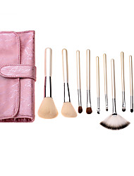 c&z 10 Stück mit Tasche Make-up Pinsel