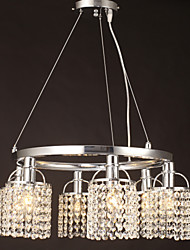 Max 40W Tiffany Crystal Others Metal Pendant Lights Living Room