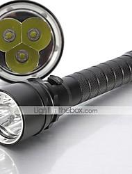 Lampes Torches LED / Lampes de poche LED 5 Mode 4000 Lumens Etanche Cree XM-L T6 18650Camping/Randonnée/Spéléologie / Usage quotidien /