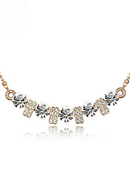 Daisy Women's Fashion Diamonade Flower Necklace