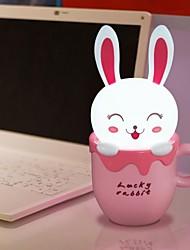 Strano New Cute Cartoon Modellismo Lampada LED Desk Lamp