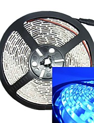 30W 5M 300LED 3528SMD 635-700nm DC12V IP68 Waterproof Strip Light Blue