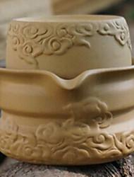 zinnober cinese porcellana nuvoloso set da tè, 1 pc teiera, 1 pc tazza di tè