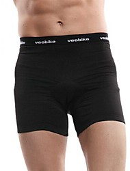 VEOBIKE® Cycling Under Shorts Men's Breathable / Quick Dry Bike Underwear Shorts/Under Shorts / Bottoms 100% Polyester Solid Cycling/Bike