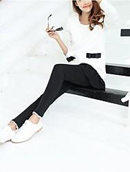 Women's Fashion Foot Mouth Lace Leggings