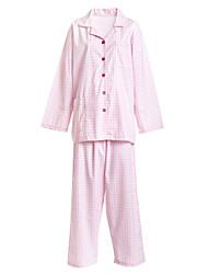 uniformes médicos botões single-breasted de sarja virou-down pijamas paciente