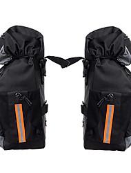 Sac de Porte-Bagage/Double Sacoche de Vélo (Noir , Polyester 600D) Etanche / Résistant à la poussière / Vestimentaire Cyclisme/Vélo