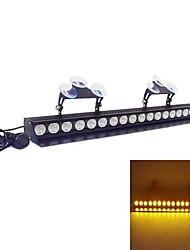 18 LED 3W Emergency Windshield Strobe Lightbar Car Styling LightBar(Optional Colors)