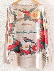 Dünn - Langarm - Pullover - Strickware )