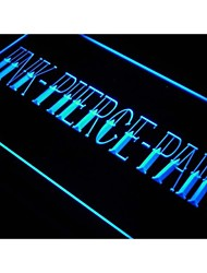 j617 INK PIERCE PAIN TATTOO SLOGAN Neon Light Sign