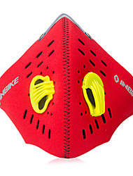 INBIKE Red Outdoor Cycling Protective PM2.5 Respirator (M=45-48CM,L=54-57cm)