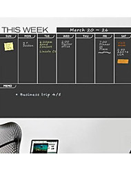 JiuBai™ Week Plan Blackboard Wall Sticker Wall Decal
