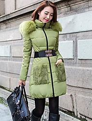 Women's Cultivation Of long Down Jacket Outerwear