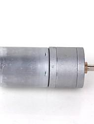 zndiy-bry DC 12V 100 rpm / dc 6v 50 rpm alto torque motor da engrenagem - prata
