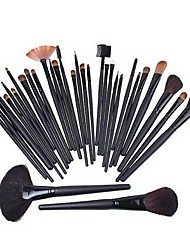32pcs High Quality Professional Woolen Makeup Brush With Free Bag