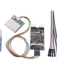 Remzibi OSD FPV OSD GPS Module USB TTL Programmer Combo for RC Multi-rotor Airplanes + Tracking