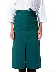 ristorante uniformi tasca al ginocchio vita grembiule