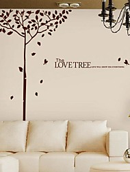 Wall Stickers Wall Decals, Modern Happy tree PVC Wall Stickers